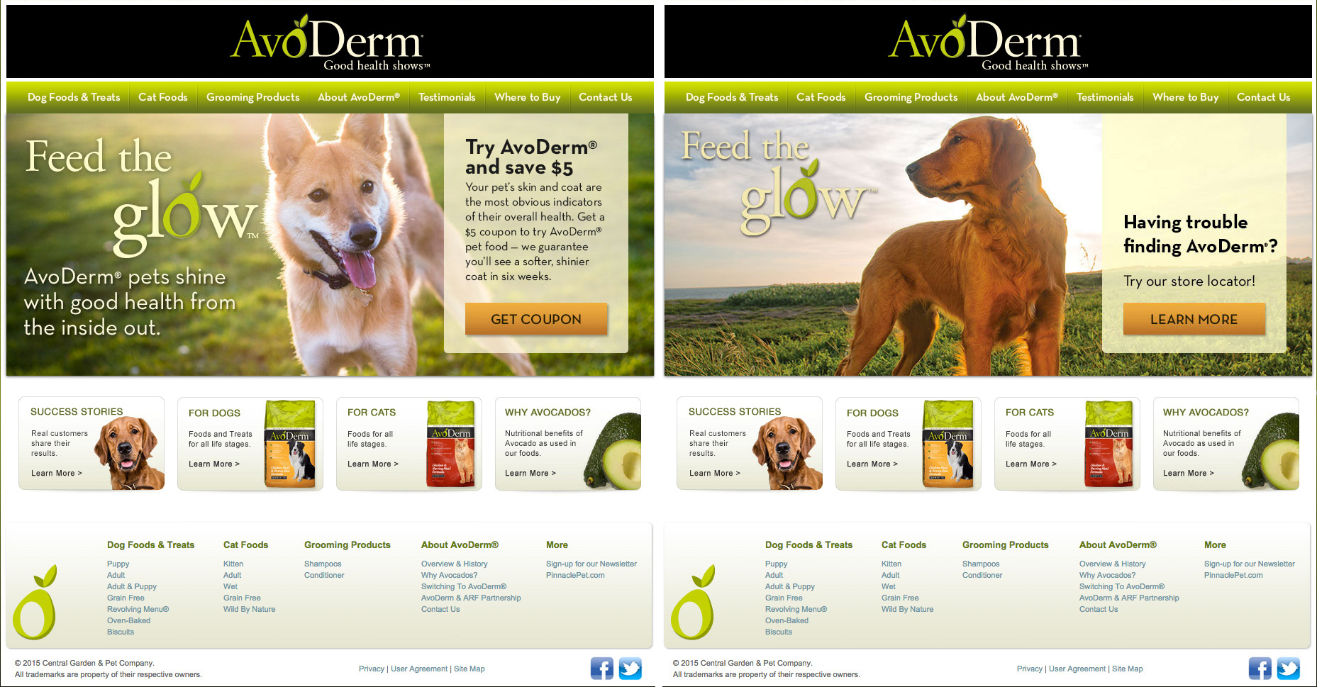 Commissioned Photography | Avoderm Website images by Mark Rogers
