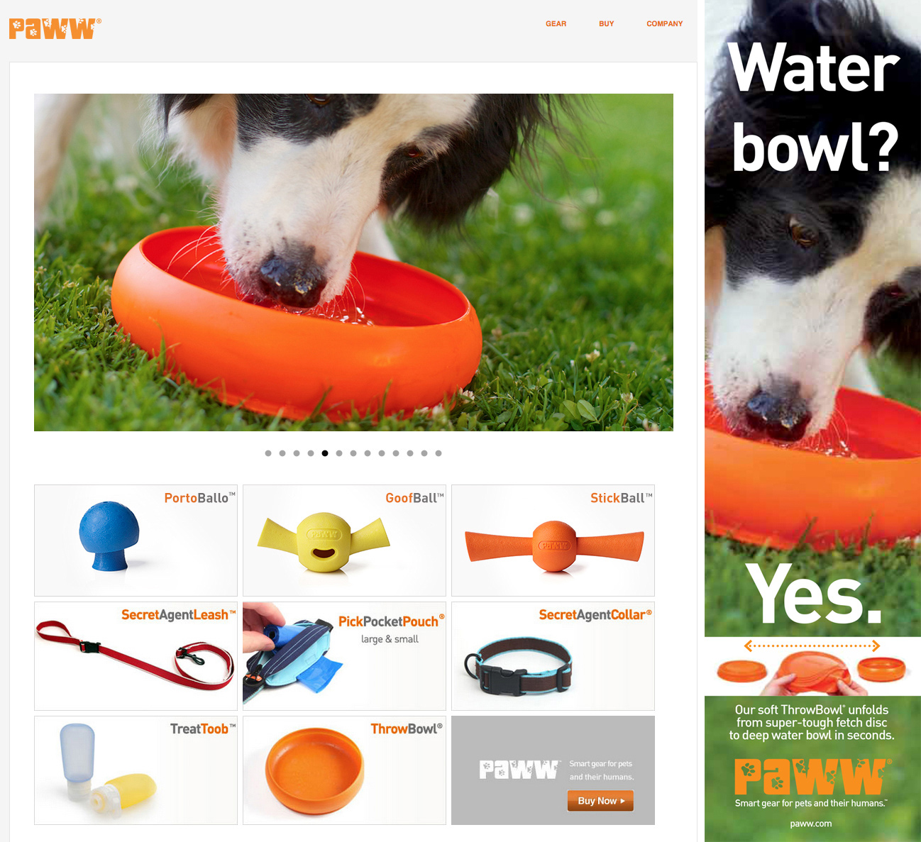 Commissioned Photography | PAWW Dog Bowl by Mark Rogers