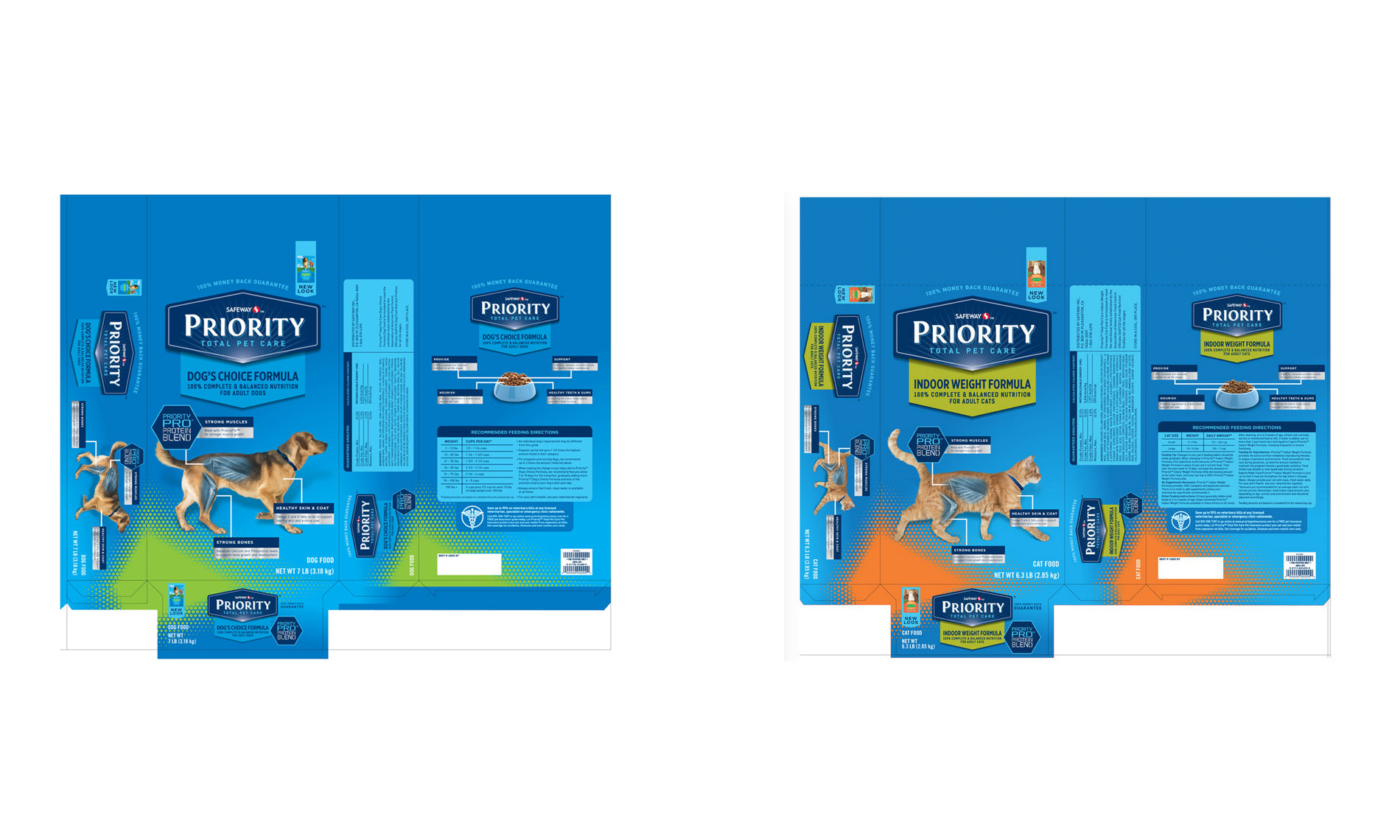 Commissioned Photography | Safeway Priority Pet Food Close-up by Mark Rogers